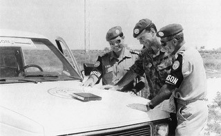 Peacekeeping in the Sinai Egypt in 1993